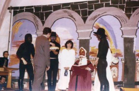 Mikulás ünnep 1975