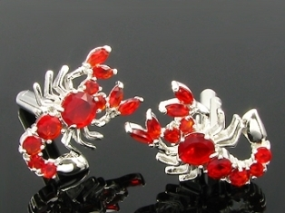 Red Hot Ruby mandzsettagombok