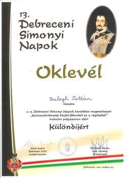 Oklevél 001