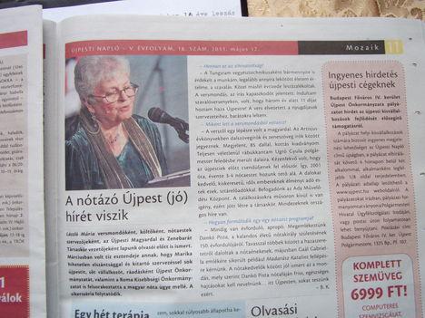 Újpesti Napló 2011.májusi száma