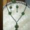 Zöld bogyós szett