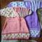 028- Bébi angolpólya - rózsaszín és lila