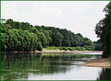 Tisza folyó Jándnál