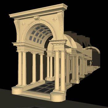 Borromini kolonnádja