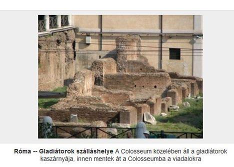 Gladiátorok szálláshelye