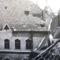 Kecskemét- városháza udvara  a földrengés után 1911-ben