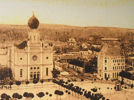 KECSÓ -  FŐTÉR AZ 1900 - AS ÉVEK ELEJÉN