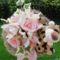 Halvány rózsaszín orchidea csokor 1