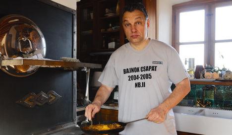 Orbán a bátortalan konyhaművész