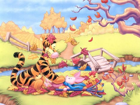 Malacka, Tigris és Mackó háttérkép