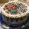 kerek csoki torta