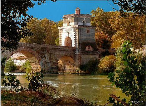 Milvio híd ősszel