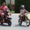 Motorosok felvonulása a szanyi falunapon 2011.06.12