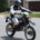 Szanyi motorosok felvonulása a 21.- dik szanyi falunapon