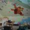 Feicht Anna Liza szobája amit apa szabadkézzel festett 2