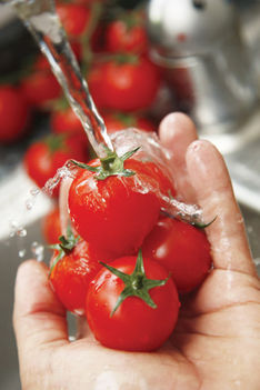Mosott zöldség, gyümölcs