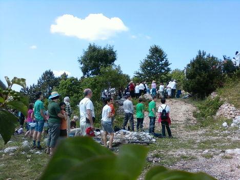 Pilisszántói zarándoklat pünkösdkor 2011 13
