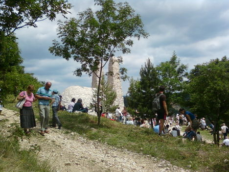 Pilisszántói zarándoklat pünkösdkor 2011 16