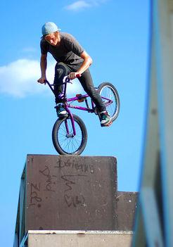 A kaposvári Skateparkban