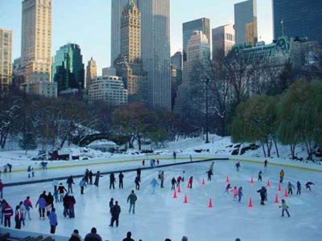 Central Park télen