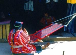 hagyományos szövés közép-amerikában