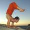 jóga a természetben