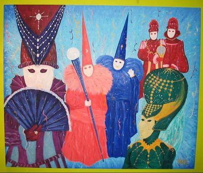 stilizált karnevál