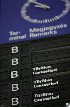 sztrájk és törölt járatok