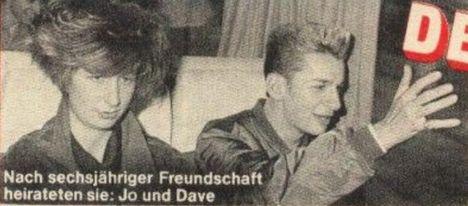 Dave és Joanne első felesége