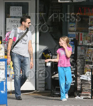 Dave és kislánya Stella Rose