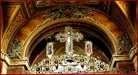 Máriapócs Kegytemplom ikonosztázia