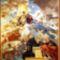 Máriapócs Kegytemplom Nagy Szent Bazil megdicsőülése /falfestmény/
