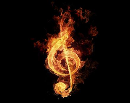 Tűz violin