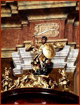 Máriapócs Kegytemplom szószék szobor