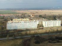 A komáromi szovjet katonai városrész