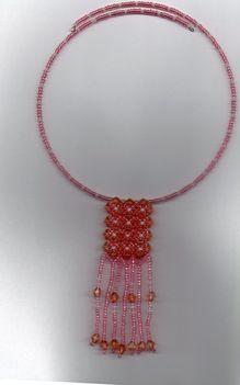 barack-rózsaszín nyakék
