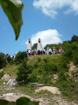 Pünkösdi zarándoklat 2011 Pilisszántó