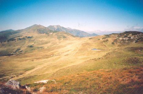 Erdély Radnai-havasok Gargalói panoráma
