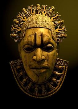 afrikai maszk saját