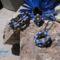 Óarany-kék szett