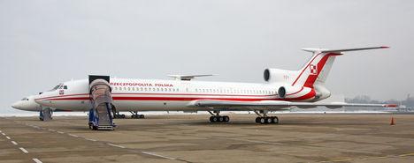 A 2010-ben lezuhant lengyel kormánygép