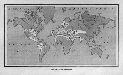 Atlantiszi birodalom i.e. 10 000 körül