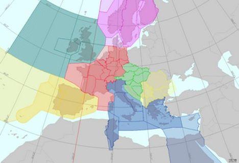 fab CE Közép-európai légtérblokk