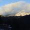 Felhők az Öcsémkő felett