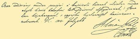 Függetlenségi Nyilatkozat aláírása