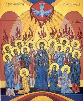 16 láng a szent lélek alászállása