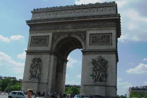 Párizs, Arc de Triomphe (Diadalív)