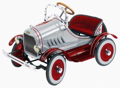 Vintage kocsi kicsiknek