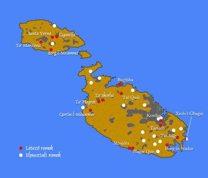 Máltai térképek 1