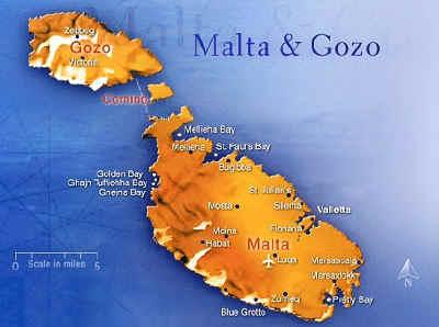 Máltai térképek 4